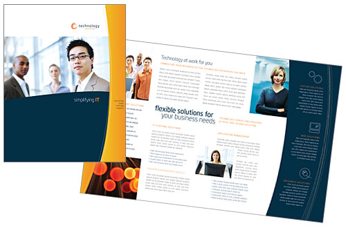 Amazing Sample Business Brochure Contemporary  Best Resume